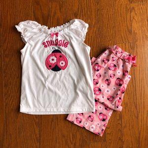 Gymboree Ladybug Pajama Set